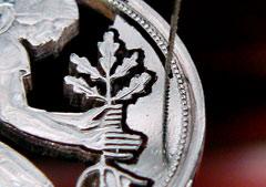 Münzschmuck Aus Münzen Wird Schmuck